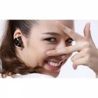 BTEC018 Type d'escargot Mini Bluetooth V2.1 Casque mono avec micro