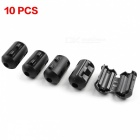5.5mm Durchmesser Cord Ferrit Core Noise Suppressor Filter (10 PCS)