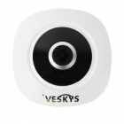 VESKYS 360 Degrees HD VR IP Network Security WiFi Camera (US Plugs)