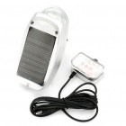 Solar Power Self-Recharge Bicycle 5 White LED Front Light + 3 Red LED Safety Tail Light (2*AA)