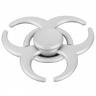 BLCR Tri-Spinner Fidget Toy EDC Finger Spinner for Autism - Silver