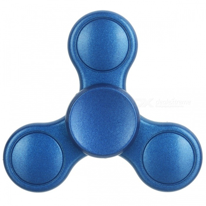 BLCR Tri-Spinner Fidget Toy EDC Finger Spinner for Autism - Blue