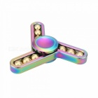 Dayspirit Rainbow 9-Ball Finger Stress Relief Gyro Rotator Toy