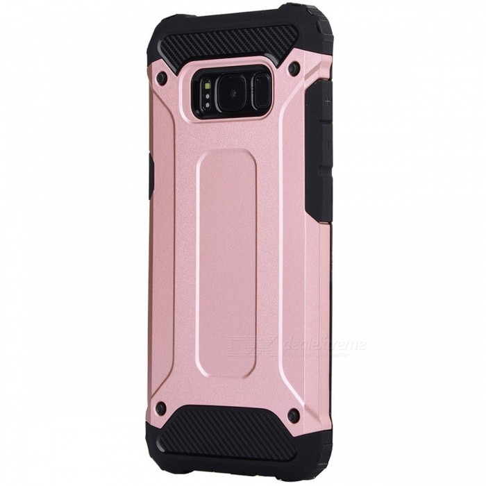 Vecr Armor Protective Case for Samsung Galaxy S8 Plus - Rose GoldenPlastic Cases<br>Form  ColorRose GoldModelN/AMaterialTPU + PCQuantity1 setShade Of ColorGoldFeaturesGlow-in-the-darkCompatible ModelsSamsung Galaxy S8 plusPacking List1 x Case<br>