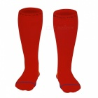 NUCKILY Unisex Elastic Cycling Long Socks - Red (L)