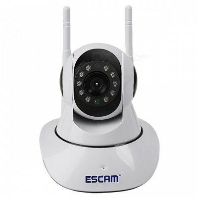 ESCAM G02 HD 720P Pan Tilt Indoor Wireless WiFi IP Camera (EU Plug)