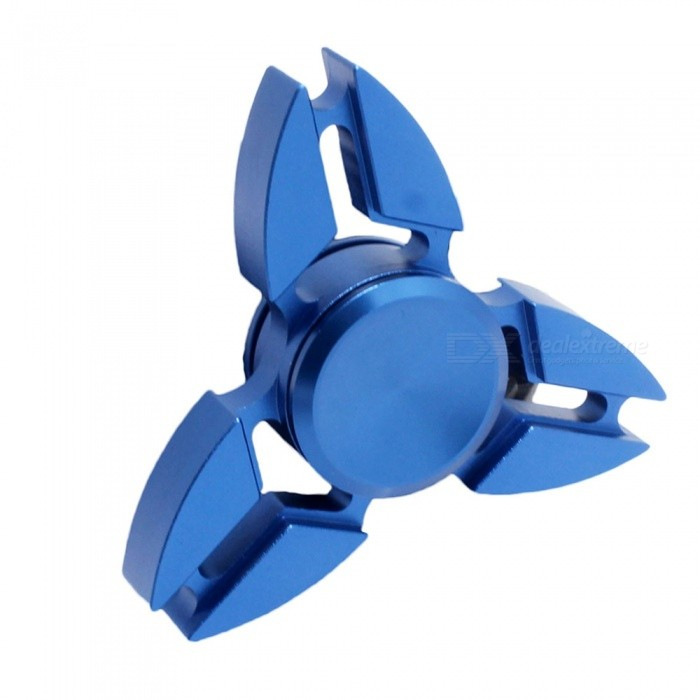 Dayspirit Metal Zinc Alloy Tri Fidget Hand Finger Spinner - BlueFinger Toys<br>Form  ColorBlueMaterialZinc AlloyQuantity1 DX.PCM.Model.AttributeModel.UnitSuitable Age 5-7 years,8-11 years,12-15 years,Grown upsPacking List1 x Spinner<br>