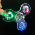 Dayspirit Crystal Transparent LED Light Hand Spinner Fidget Toy