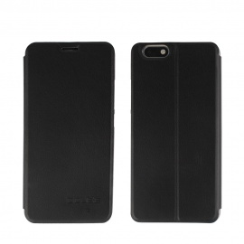 OCUBE PU Leather Flip-open Case for UMI C NOTE 5.5inch - Black