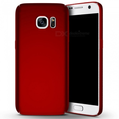 Naxtop PC Hard Protective Back Case for Samsung Galaxy S7 - Red