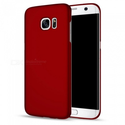 Naxtop PC Hard Protective Back Case for Samsung Galaxy S7 Edge - Red