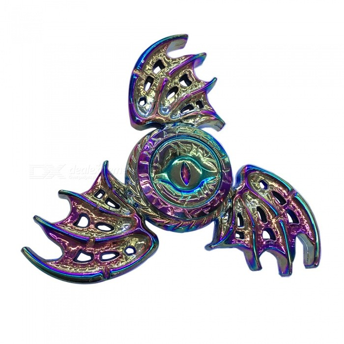 Dayspirit Eagle Eye Shape Stress Relief Hand Spinner - MulticolorFinger Toys<br>Form  ColorMulticolorMaterialZinc alloyQuantity1 DX.PCM.Model.AttributeModel.UnitSuitable Age 5-7 years,8-11 years,12-15 years,Grown upsPacking List1 x Spinner<br>