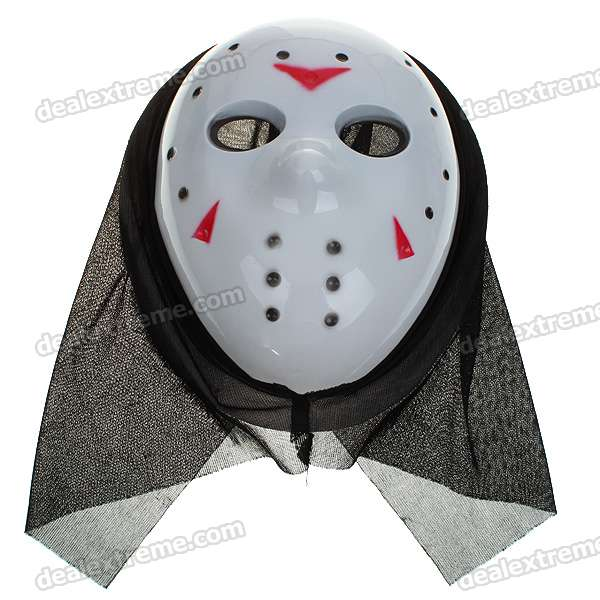 Scary Horror Plastic Gruesome Ghost Mask (Style Assorted)