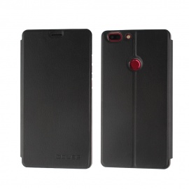 OCUBE PU Leather Flip-open Case for Elephone C1 MAX - Black