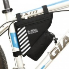 B-SOUL Bike Triangle Pack with Bottle Bag - Black (Without Bottle)