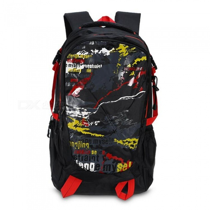 Multifunctional Waterproof Outdoor Sports Shoulder Bag - Red