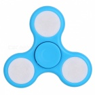 E-SMARTER Colorful Luminous Fidget Stress Relief Spinner Toy -Sky Blue