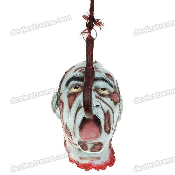 Life Size Scary Severed Head Party Decoration Haunted House/Halloween Props kerst navidad 2017 halloween haunted house supplies bar ktv decorative props tricky toys luminous spider web 142g