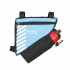B-SOUL Bike Triangle Pack with Kettle Bag - Blue (Without Kettle)