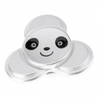 E-SMARTER Cute Bear Style Stress Relief Toy EDC Hand Spinner -Silver