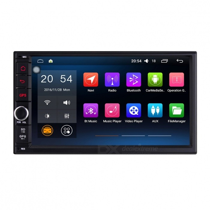 Joyous J-2818N6.0 HD 1024x600 Android 6.0.1 Universal Car Radio Player