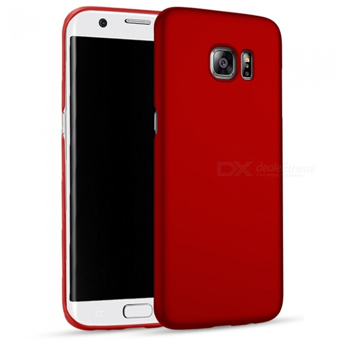 Naxtop PC Hard Protective Back Case for Samsung Galaxy S6 Edge+ - Red