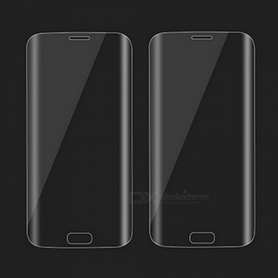 2Pcs Dazzle Colour Tempered Glass Screen Protector for Samsung S7 Edge