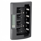 Soshine LCD Intelligent Ni-MH AA, AAA, C, D Battery Charger - Black
