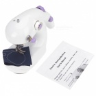 Mini Portable Handheld Electric Sewing Machine - White