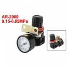 Compressor Gas Source Pneumatic Filter Regulator - Black