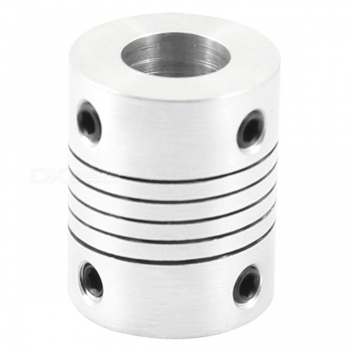 Winding Tråd Elastic Top Wire Coupling, Aperture 10 x 10mm - Silver
