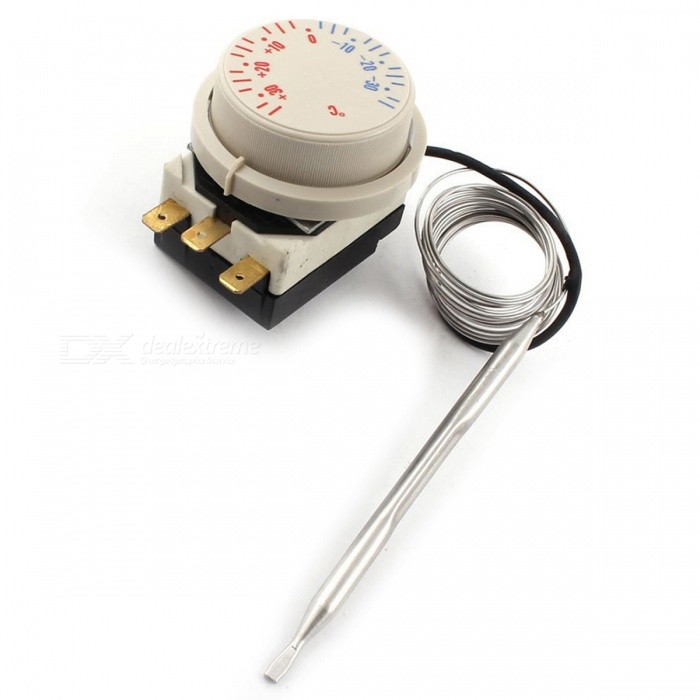 Freezer - 30 to 30C AC 250V 16A AC380V Thermostat Switch