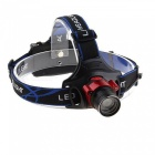 Aluminum Alloy Wireless Sensor Searchlight Headlamp for Outdoors (2 x 18650 Batteries Not Included)