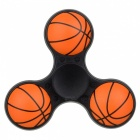 E-SMARTER Basketball Pattern Stress Relief Toy EDC Spinner - Black