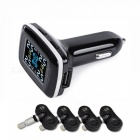 90SMART LCD Display Tire Pressure Monitor System, 4 Built-in Sensors