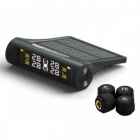 90SMART TPMS Car Detector Tire Pressure Monitoring System - Black