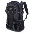 Multifunctional Waterproof Nylon 40L Sports Backpack - Black