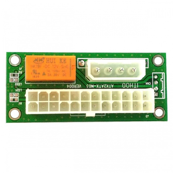 Alimentation à double alimentation Synchronous Start 24PIN Power Board - Vert