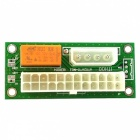 Dual Power Supply Synchronstart 24PIN Power Board - Grün