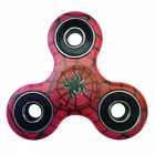 Dayspirit Spider Pattern Finger Toy EDC Hand Spinner for Autism - Red