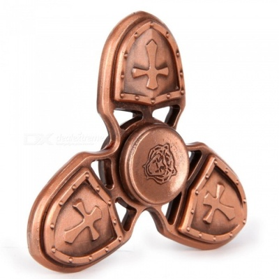 Mr.northjoe Spinner Fidget Toy EDC Hand Spinner for Autism -Red Bronze