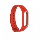 Replacement TPU Wrist Band for Xiaomi MI Band 2 - Red White
