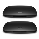 Original Xiaomi Mi 3S Amlogic S905X Quad-Core TV Box - Black (2 PCS)