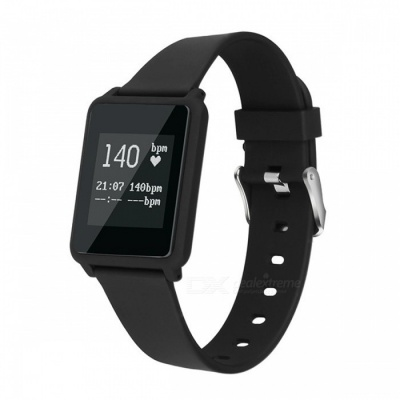 Z8plus Ultra-Thin Smart Sports Bracelet with Heart Rate Monitor -Black