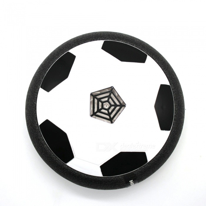 Dayspirit LED Suspended Soccer Disc and Gliding Toy - Black, White