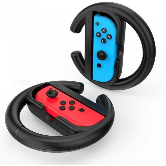 gamewill steering wheel for nintendo switch controller black 2 pcs compralo con envio. Black Bedroom Furniture Sets. Home Design Ideas