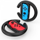 GameWill Steering Wheel for Nintendo Switch Controller - Black (2 PCS)