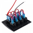 Universal Modified Panel with 3-PIN 4-Bit Switch Combination