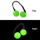 Noctilucent Funny Stress Relieving Finger Yo Yo Bead Playing Toy for Kids, Adultes