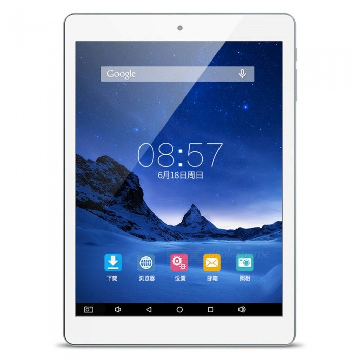 CUBE iplay 8 7.85 HD IPS Screen Quad-core Tablet with 1+16GBAndroid Tablets<br>Form  ColorWhite + Deep GreyBrandCUBEModeliplay 8/U78Quantity1 DX.PCM.Model.AttributeModel.UnitMaterialPlasticShade Of ColorWhiteProcessor BrandOthers,MTKProcessor ModelOthers,MTK MT8163Processor Speed1.3 DX.PCM.Model.AttributeModel.UnitNumber of CoresQuad CoreGPUMALI T720-MP2RAM/Memory TypeDDR3 SDRAMBuilt-in Memory / RAM1GBCapacity / ROM16GBScreen SizeOthers,7.85Screen Size7.8 inches~8.9 inchesScreen TypeIPSTouch TypeCapacitive screenResolution1024 x 768Touch Point5-point Capacitive Touch Screen3G TypeNo3G FunctionNoOperating SystemAndroid 6.0Supported NetworkWifi,GPSGravity SensorYesWi-Fi StandardOthers,IEEE 802.11a/b/g/nBluetooth VersionBluetooth V4.0MicrophoneYesBuilt-in SpeakersYesInterface1 x 3.5mm,Others,1 x TF,1 x Micro HDMIUSB ChargeYesGoogle Play(Android Market)YesCamera type2 x CamerasFront Camera Pixels0.3 DX.PCM.Model.AttributeModel.UnitBack Camera Pixels2 DX.PCM.Model.AttributeModel.UnitPhotoflash LampNoStorage InterfaceSD,TFButtonReset,SoundImagesBMP,JPG,PNGE-bookTXTVideo FormatsOthers,MP3/WMA/WAV/AAC/FLAC/APEExternal Memory Max. SupportOthers,128 DX.PCM.Model.AttributeModel.UnitPower AdapterWithout Power AdapterTip Diameter5.0 x 3.5Supported LanguagesEnglish,French,Japanese,Korean,Thai,Others,support multi-languaugeBattery Capacity3500 DX.PCM.Model.AttributeModel.UnitBattery TypeLi-polymer batteryWorking Time14 DX.PCM.Model.AttributeModel.UnitStandby Time280 DX.PCM.Model.AttributeModel.UnitCharging Time5 DX.PCM.Model.AttributeModel.UnitPacking List1 x Tablet PC1 x Micro USB cable (75 cm)1 x Chinese user manual<br>